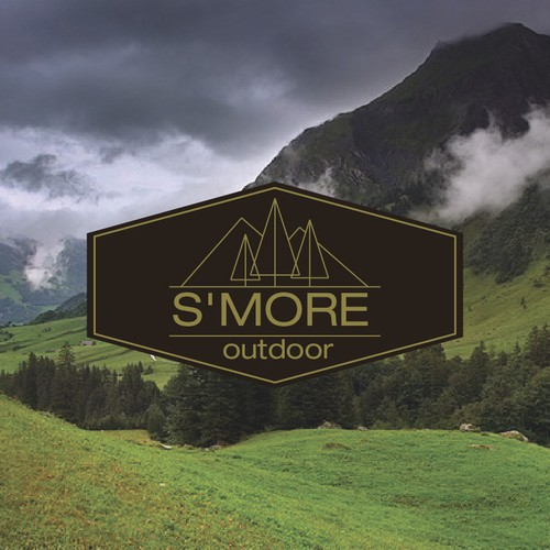 Capture mans desire to be out in the wild for S'more Outoor