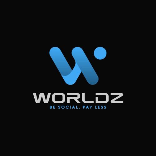 Logo design for worldz