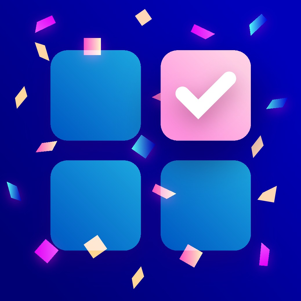 We need a fun and exciting app icon for our survey rewards app