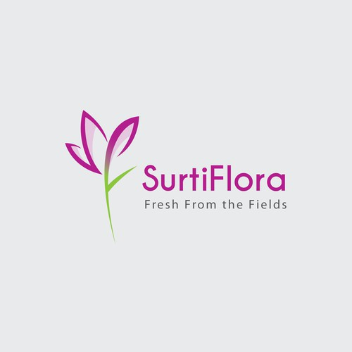 Logo for a flower wholesale/distributor company