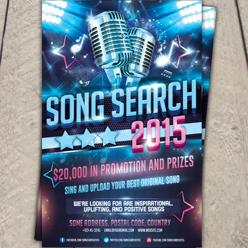 Poster for Song Search 2015