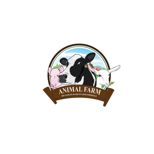 Capture the essence of our rare breed farm park experience in a logo