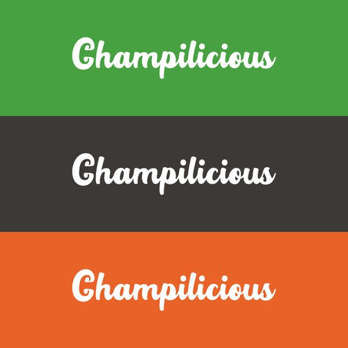 Champilicious for Logo Design