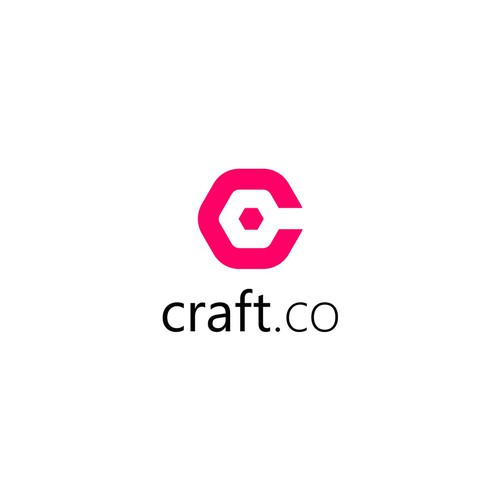 Winning logo of Craft.co
