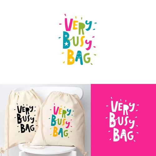 logo for Very Busy Bag