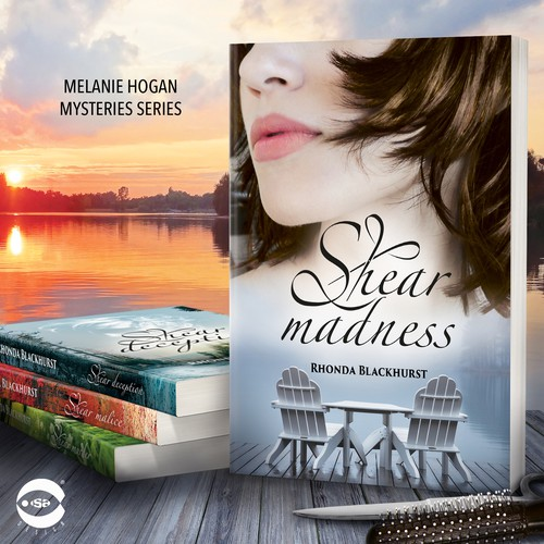 "Book cover for ""Shear Madness"" by Rhonda Blackhurst"