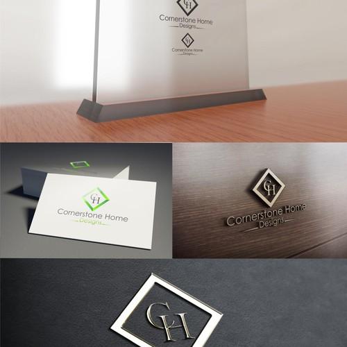 Create attractive and relivant logo for Cornerstone Home Designs