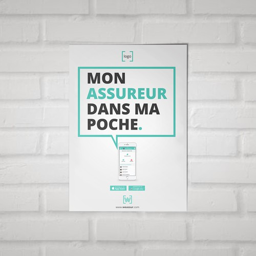 poster app minimalist