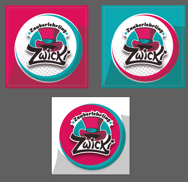 Zwicki Businesscard and Sticker