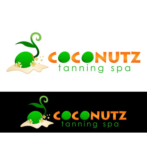 Create the next logo for Coconutz Tanning Spa