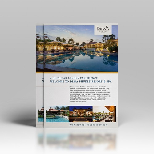 Luxury Resort Flyer