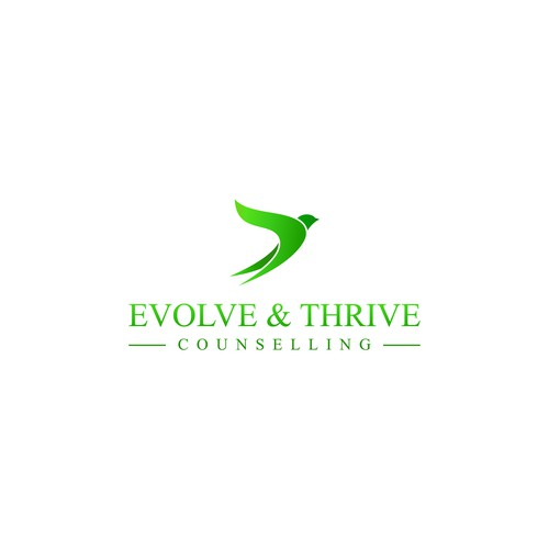 evolve & thrive counselling logo