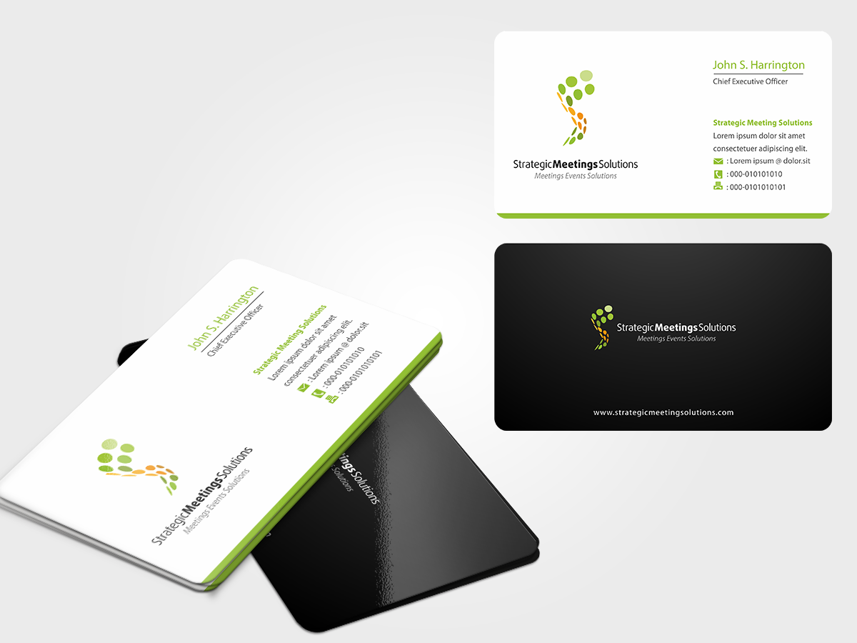 New logo and business card wanted for Strategic Meetings Solutions  (SM)