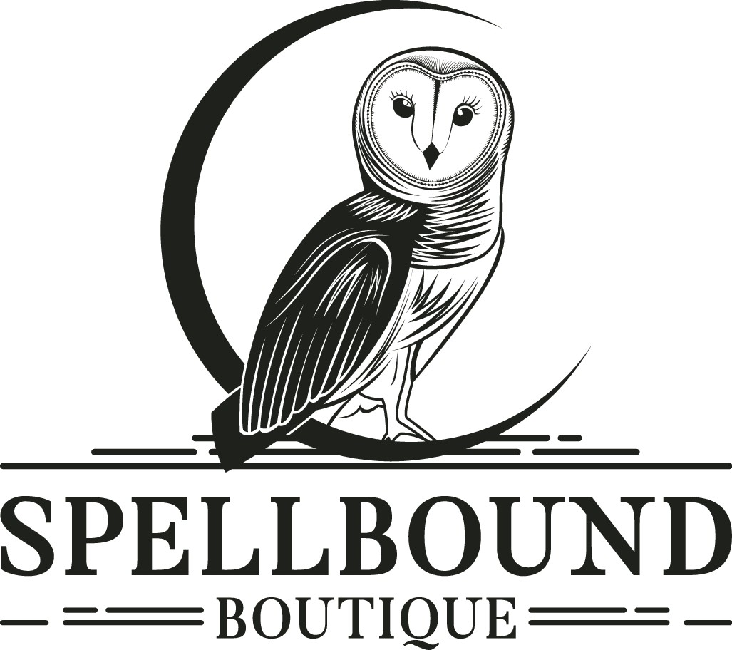 Spellbound Boutique Needing Antique Style Logo