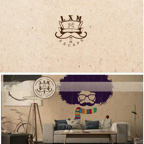 hippie logo for escape room