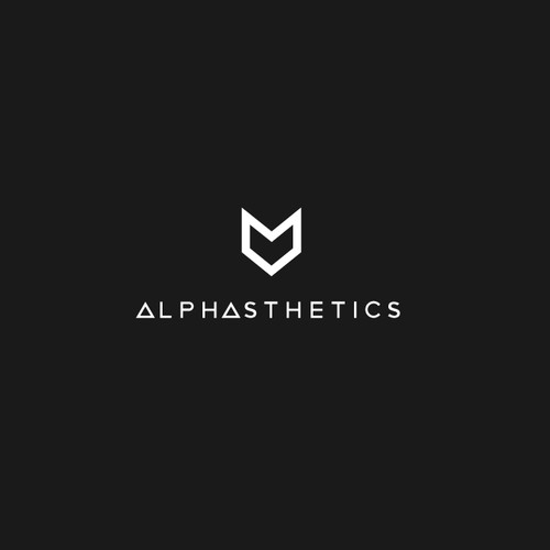 Logo concept fot Alphasthetics Clothing
