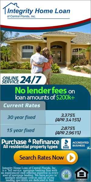 Create the next banner ad for Integrity Home Loan of Central Florida