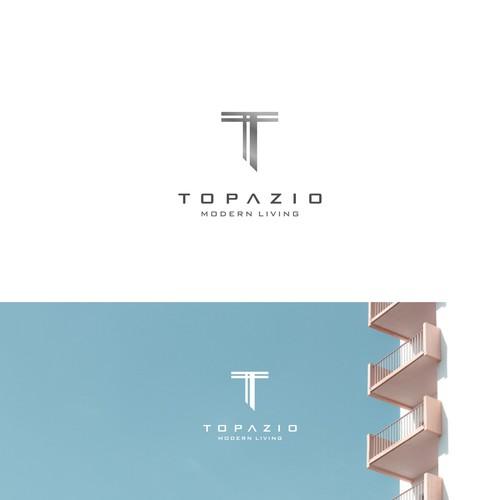 Modern Logo Concept For Topazio