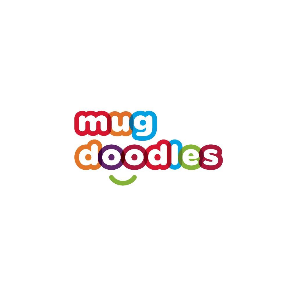 Mug Doodles Seeks Creative Fun Logo