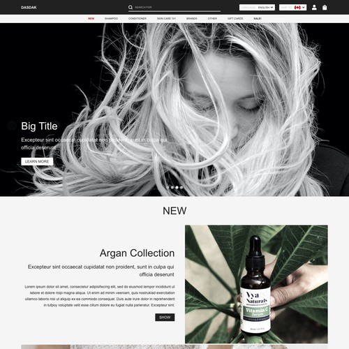 Minimal Web Design for High-End Consumers