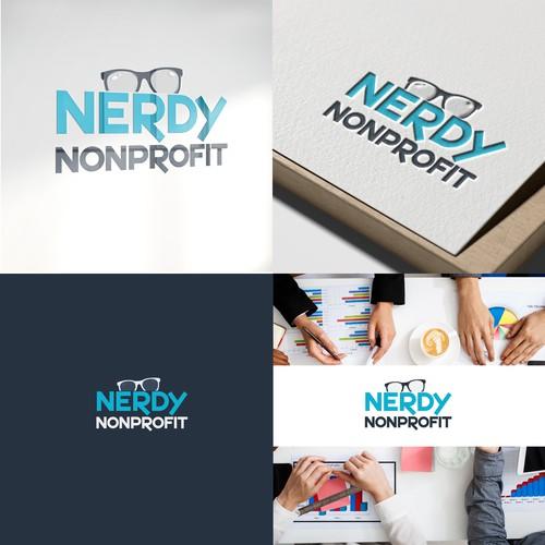 logo concept for nonprofit digital marketars