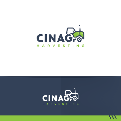 Logo concept for Cinagro Harvesting