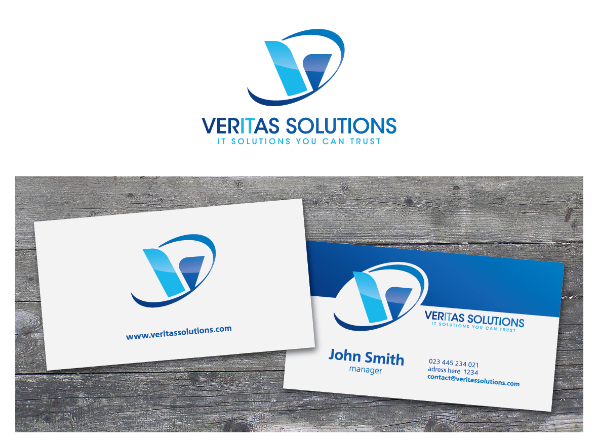 Create the next logo for Veritas Solutions