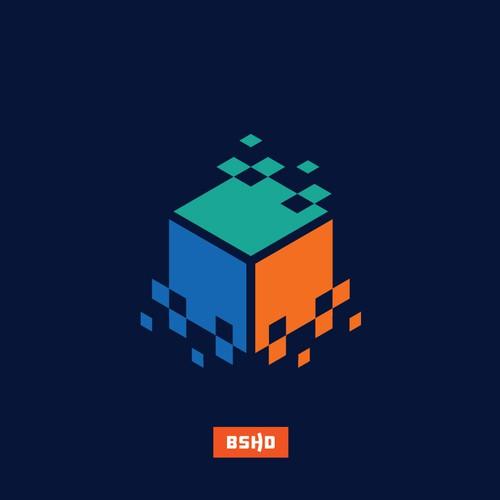 Design logo for tech startup PixelCrawler