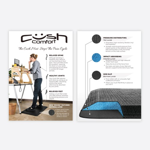 3D Images for Cush Comfort
