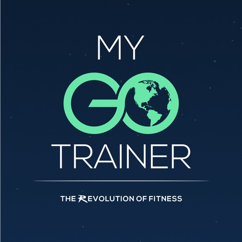 Design a sleek logo for the next big fitness app