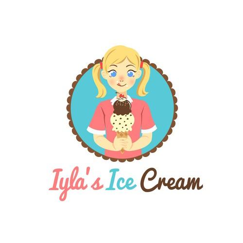Kids Ice Cream Logo