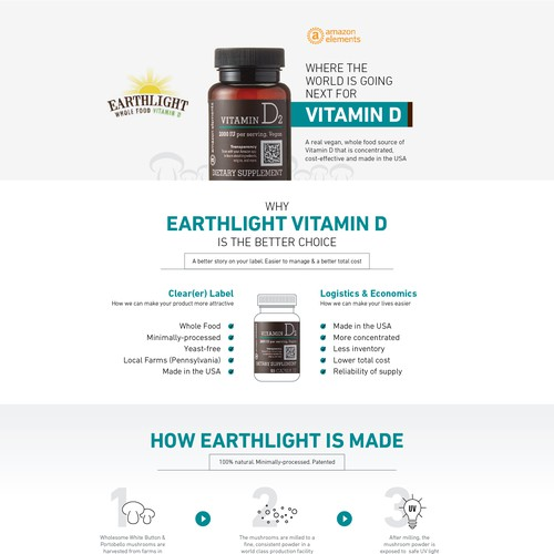 Earthlight Vitamin D Infographic