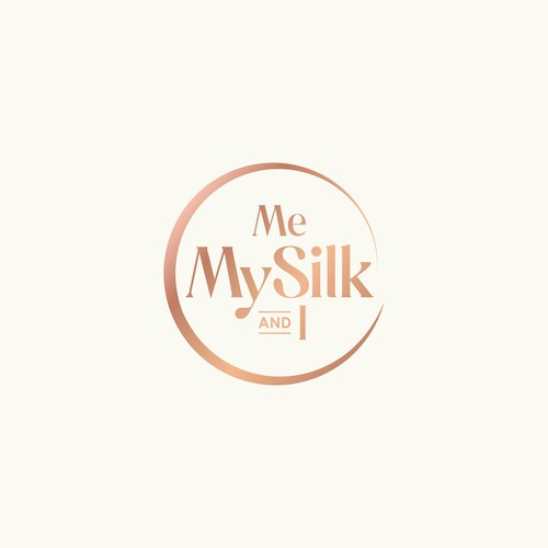 Me.MySilk.&I. - Very excited entrepreneurs searching for a silk-business new logo