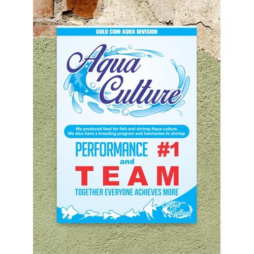 Aqua Culture signage