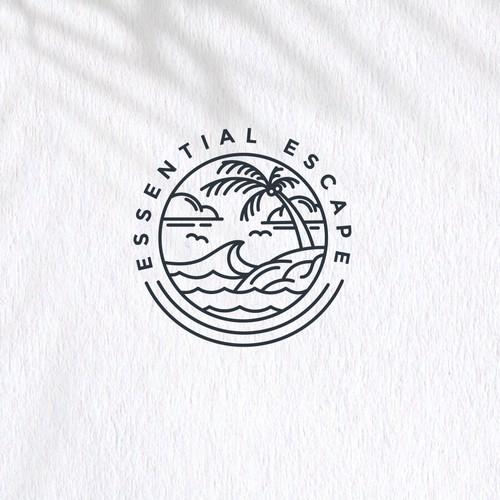 Essential Escape Logo Concept