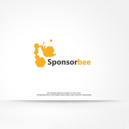Design a modern looking logo for Sponsorbee.com