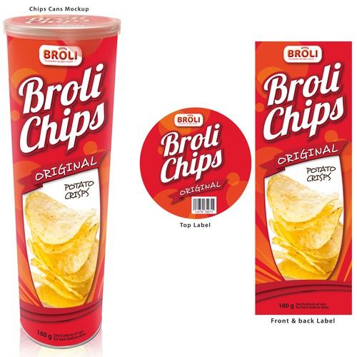Package design for line of chips BROLI