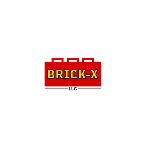 Logo for Brick-x company.