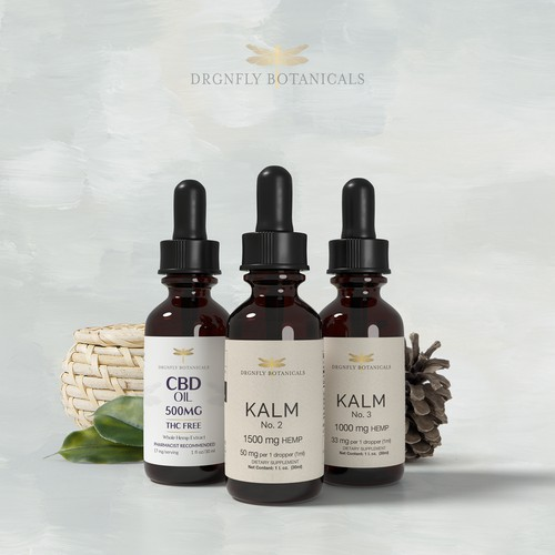 CBD Label Design