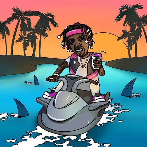 Rap album cover