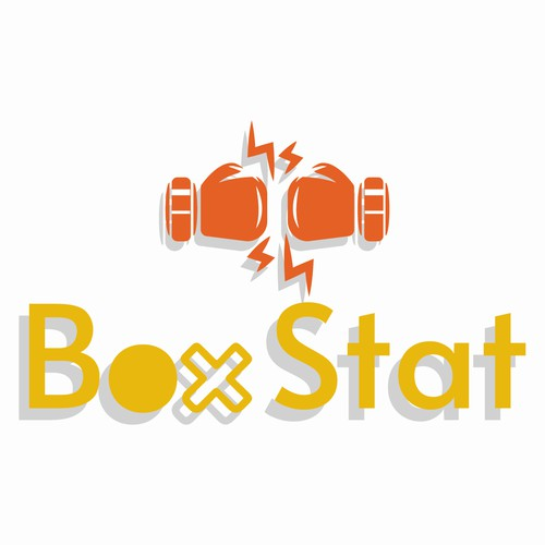 Logo concept for boxing statistics