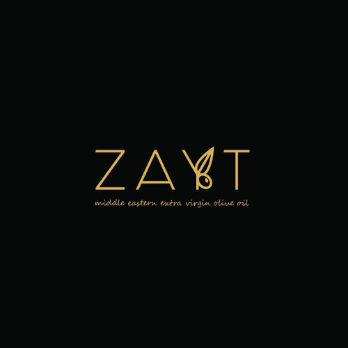 Simple logo for ZAYT