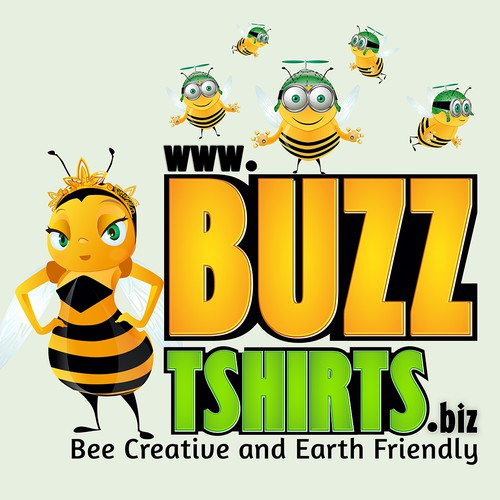 Bee Creative and Create a winning Logo for Buzz
