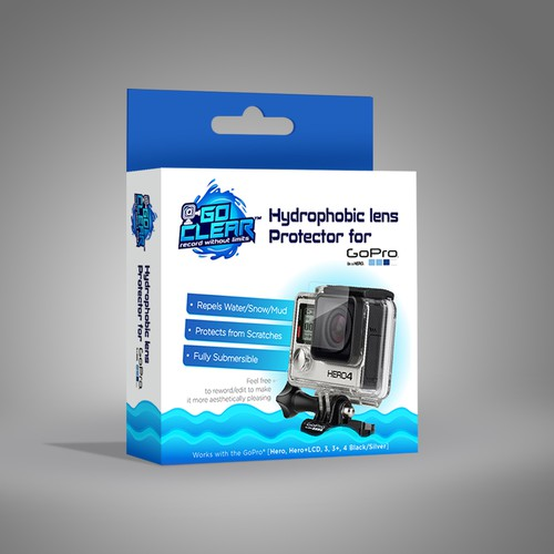 Lens Protector Packge Design