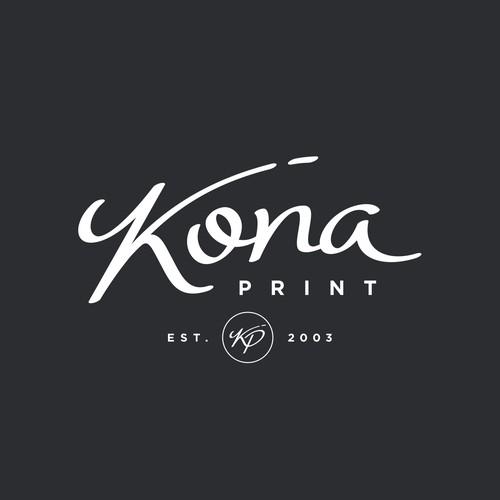 Kona Print logo