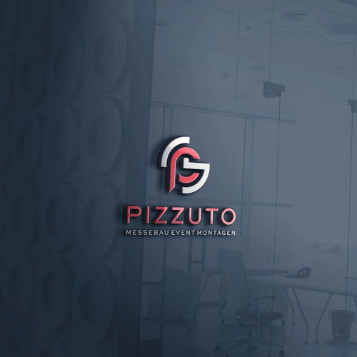 Pizzuto Logo with initials PM