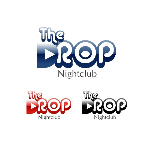 The Drop Night Club needs a new logo