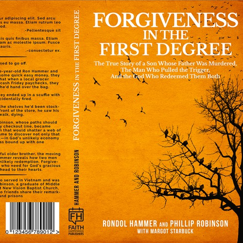 Forgiveness in the First Degree Book Cover