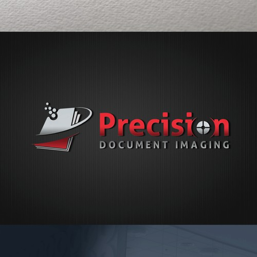 Precision Document Imaging Logo & Website