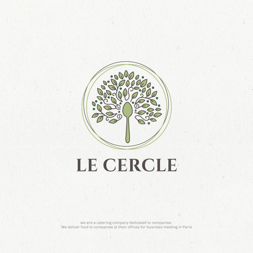 Logo concept for catering company in France!
